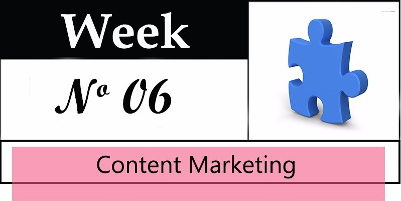Week 6 of a 10 Week Sales Funnel
