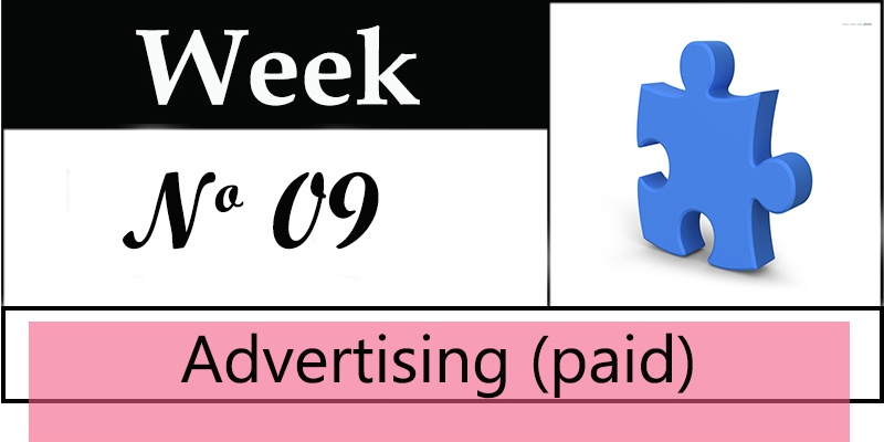 Week 9 of a 10 Week Sales Funnel