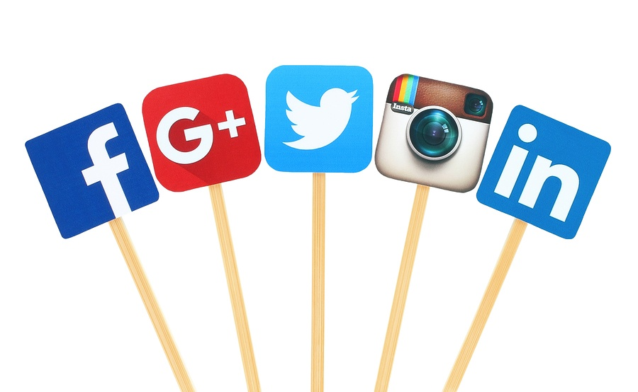 Social Media Networks: Facebook, Google+, Twitter, Instagram, LinkedIn